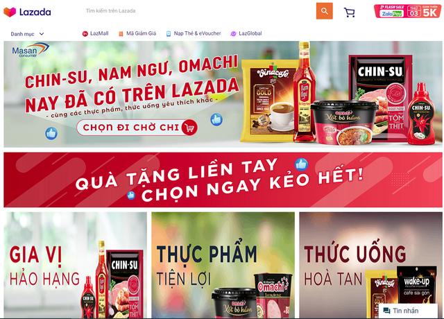 Masan bắt tay Alibaba, người tiêu dùng có thể đi chợ VinMart online, mua nước mắm Chinsu, mỳ Omachi… trên Lazada - Ảnh 1.