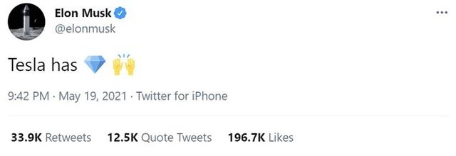Elon Musk có động thái cứu thị trường, tweet khen ngợi 'Master of coin' - Ảnh 1.