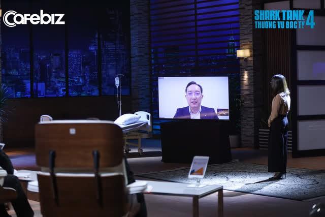 Gặp startup bán công nghệ điều trị ung thư, Shark Việt nhọc nhằn chốt deal đầu tiên: Tưởng đánh đòn phủ đầu chiếm 50% , ai ngờ founder cứng như đá, mặc cả qua lại còn 32% - Ảnh 1.