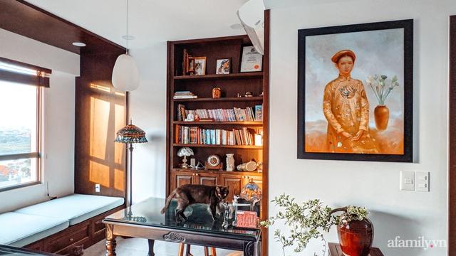 Căn hộ 70m² thay áo mới đậm chất hoài cổ nhờ lấy cảm hứng thiết kế từ phong cách Á Đông ở Sài Gòn - Ảnh 11.