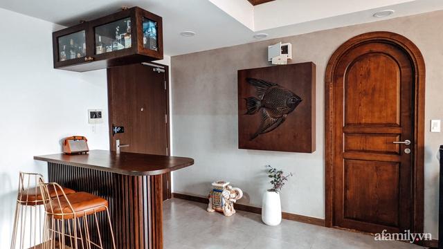 Căn hộ 70m² thay áo mới đậm chất hoài cổ nhờ lấy cảm hứng thiết kế từ phong cách Á Đông ở Sài Gòn - Ảnh 12.