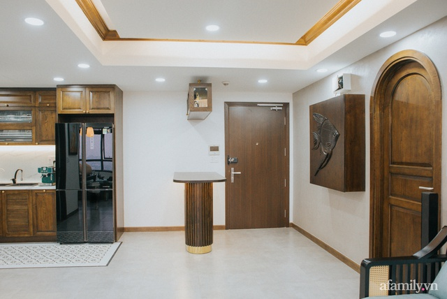 Căn hộ 70m² thay áo mới đậm chất hoài cổ nhờ lấy cảm hứng thiết kế từ phong cách Á Đông ở Sài Gòn - Ảnh 13.