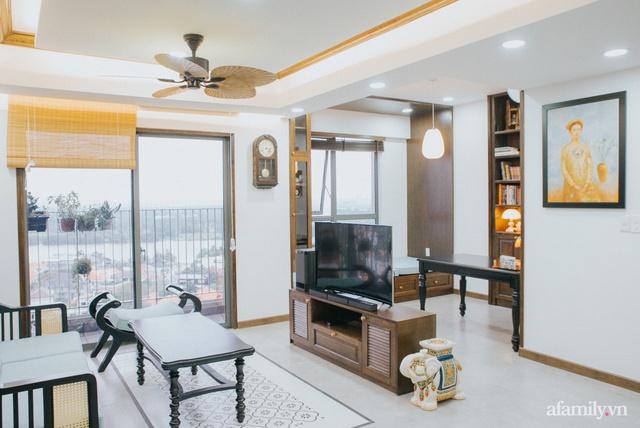 Căn hộ 70m² thay áo mới đậm chất hoài cổ nhờ lấy cảm hứng thiết kế từ phong cách Á Đông ở Sài Gòn - Ảnh 18.