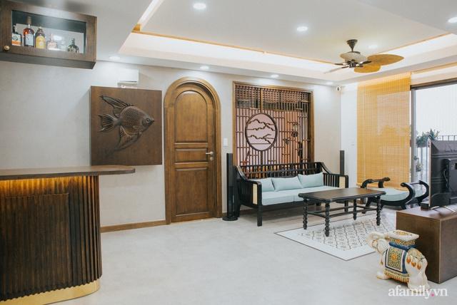 Căn hộ 70m² thay áo mới đậm chất hoài cổ nhờ lấy cảm hứng thiết kế từ phong cách Á Đông ở Sài Gòn - Ảnh 4.