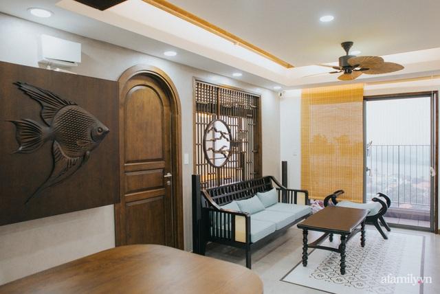 Căn hộ 70m² thay áo mới đậm chất hoài cổ nhờ lấy cảm hứng thiết kế từ phong cách Á Đông ở Sài Gòn - Ảnh 5.
