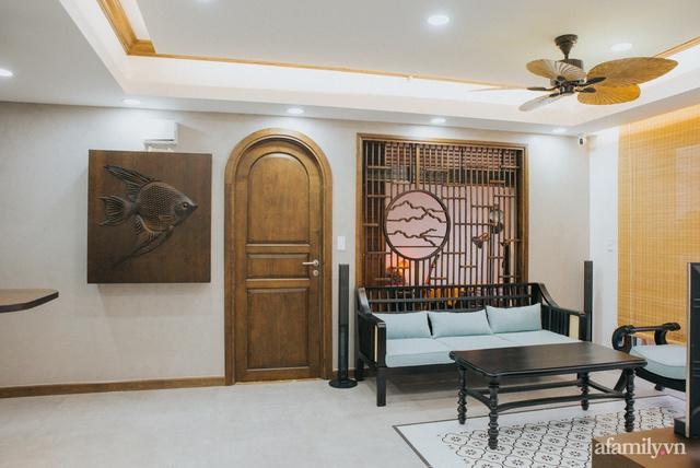 Căn hộ 70m² thay áo mới đậm chất hoài cổ nhờ lấy cảm hứng thiết kế từ phong cách Á Đông ở Sài Gòn - Ảnh 6.