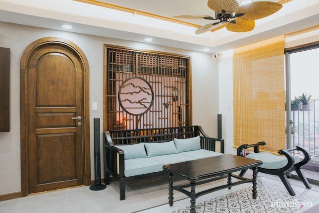 Căn hộ 70m² thay áo mới đậm chất hoài cổ nhờ lấy cảm hứng thiết kế từ phong cách Á Đông ở Sài Gòn - Ảnh 7.