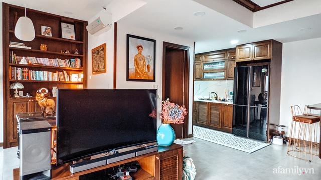Căn hộ 70m² thay áo mới đậm chất hoài cổ nhờ lấy cảm hứng thiết kế từ phong cách Á Đông ở Sài Gòn - Ảnh 9.