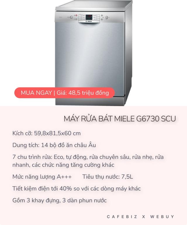 Sở hữu hơn gần 150 tỷ USD, đáng lẽ Bill Gates nên tham khảo 1 vài chiếc máy rửa bát cao cấp như thế này thời còn hạnh phúc bên vợ - Ảnh 2.