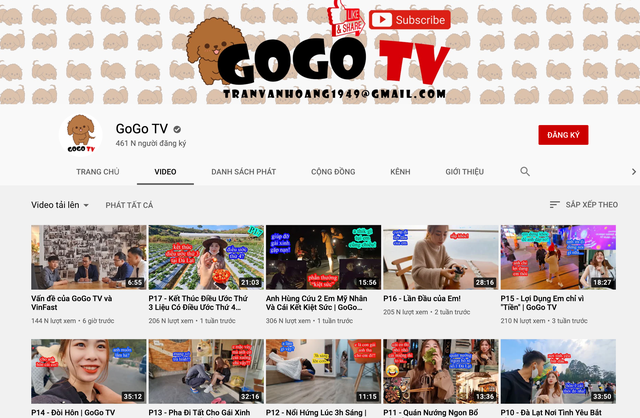 Được quan tâm nhiều gần đây, kênh GoGo TV đã hoạt động như thế nào? - Ảnh 1.