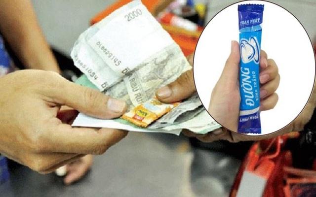 """Siêu thị toàn """"thối tiền"""" bằng kẹo, đường, rốt cuộc những món này có giá bao nhiêu? - Ảnh 1."""
