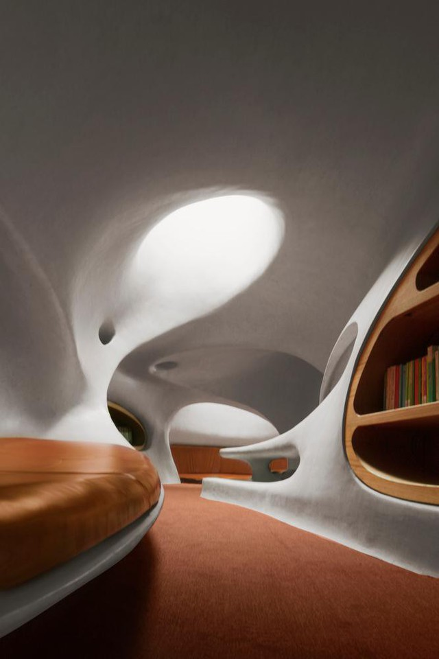 Thư viện nằm bên bờ biển có cấu trúc độc lạ, có một không hai - Ảnh 11.
