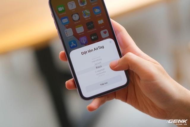 Trên tay AirTag: Phụ kiện định vị của Apple, giá 790.000 đồng - Ảnh 6.