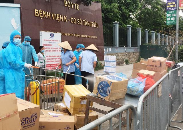 [Chùm ảnh]: Bệnh viện K - cơ sở Tân Triều, Hà Nội sau khi bị phong toả và cách ly - Ảnh 6.