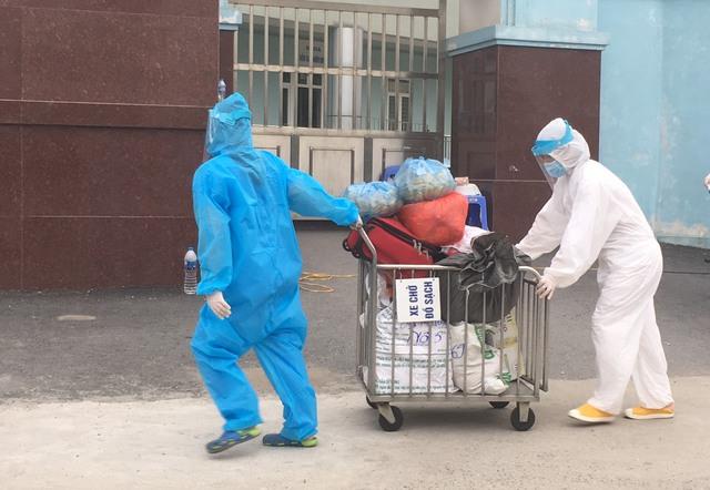 [Chùm ảnh]: Bệnh viện K - cơ sở Tân Triều, Hà Nội sau khi bị phong toả và cách ly - Ảnh 7.