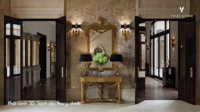 Thái Công tiếp tục vướng tranh cãi: Thiết kế biệt thự cồng kềnh đi mỏi chân, phòng tắm treo tận 8 đèn tường - Ảnh 3.