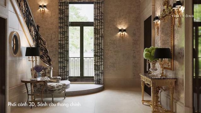 Thái Công tiếp tục vướng tranh cãi: Thiết kế biệt thự cồng kềnh đi mỏi chân, phòng tắm treo tận 8 đèn tường - Ảnh 4.