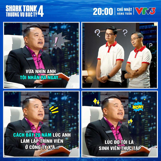 Nhận ra co-founder lên Shark Tank gọi vốn chính là đồng nghiệp cũ, Shark Bình cho biết 20 năm trước bản thân từng cắp sách học lập trình từ đàn anh - Ảnh 1.