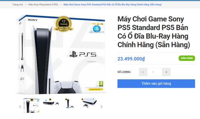 Khó như mua PS5 chính hãng tại VN: Đắt hơn giá Sony niêm yết tới 9 triệu, thà mua hàng xách tay còn hơn! - Ảnh 2.