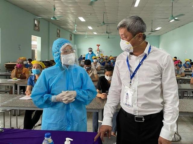 Gần 10.000 công nhân, vớihơn15 doanh nghiệp tại Bắc Giang trở lại hoạt động - Ảnh 3.