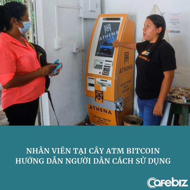 [Bài lên luôn] Nền kinh tế Bitcoin tại thị trấn có đúng 1 cây ATM, toàn người thu nhập thấp: Thanh toán gần như mọi thứ bằng đồng tiền số phổ biến nhất thế giới - Ảnh 1.