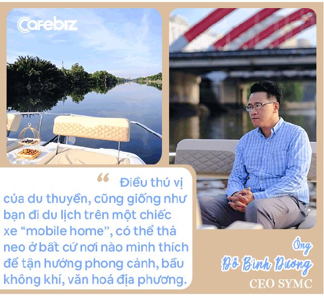 Ông trùm du thuyền Việt tiết lộ thú chơi của giới nhà giàu, khẳng định thu nhập trung bình khá vẫn có thể tận hưởng dịch vụ siêu sang - Ảnh 4.