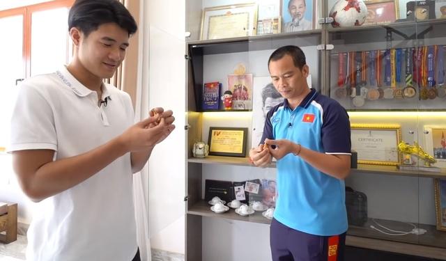 Mục sở thị cơ ngơi hoành tráng của cầu thủ Hà Đức Chinh tặng mẹ: Xây dựng sương sương hết 2 tỷ, có riêng phòng luyện tập thể lực xịn sò - Ảnh 11.