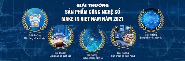 """Sắp phát động Giải thưởng """"Sản phẩm Công nghệ số Make in Viet Nam"""" năm 2021 - Ảnh 1."""