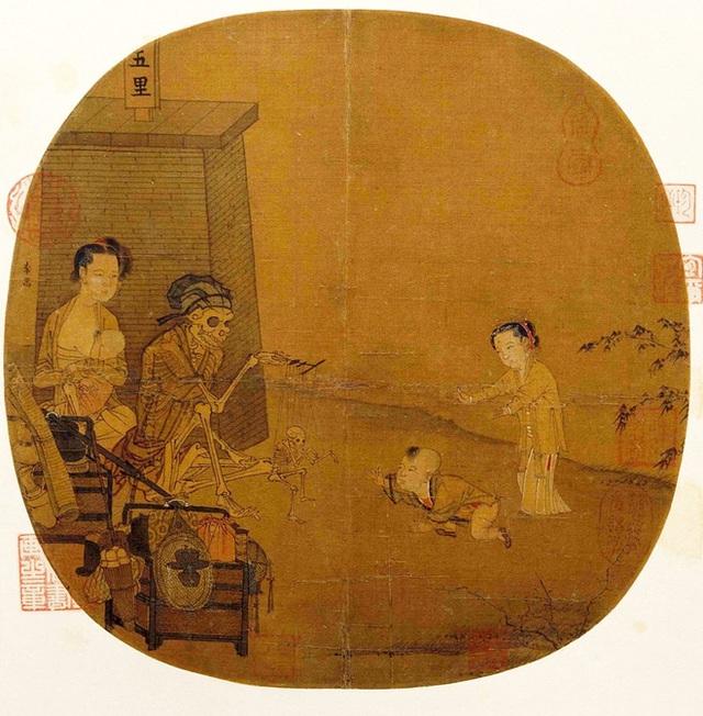 Bức tranh Quỷ trong Bảo tàng Cố cung, hơn 800 năm ai xem cũng không hiểu, phóng to gấp 10 lần mới phát hiện chi tiết đáng kinh ngạc - Ảnh 2.