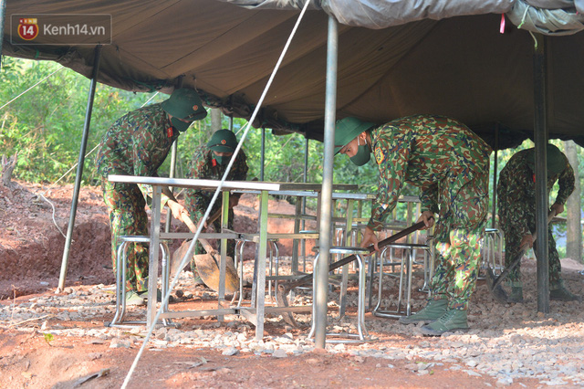 Cuộc hành quân thần tốc trong đêm của chiến sĩ Bắc Giang để nhường doanh trại cho người dân cách ly - Ảnh 18.