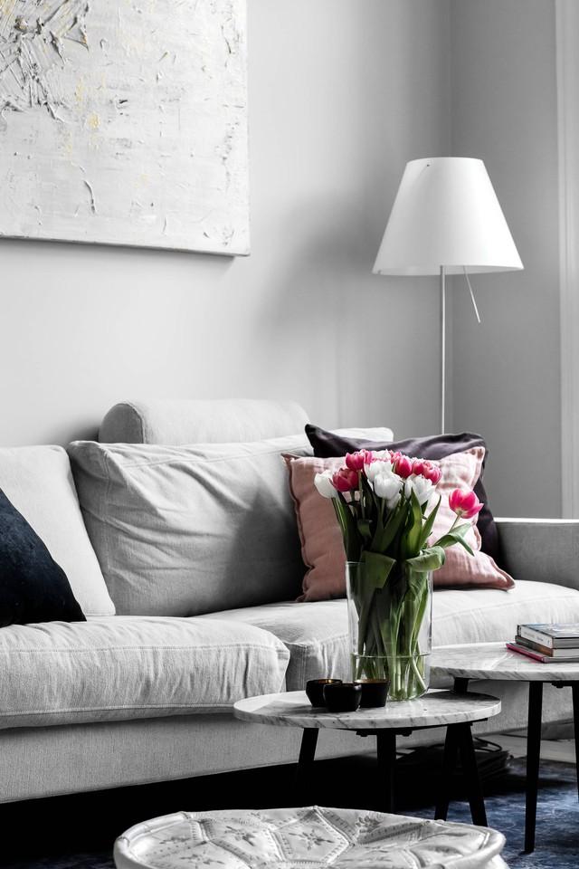 Sau nhiều năm tiết kiệm, cô gái trẻ đã mua được căn hộ 39m² và cải tạo thành không gian đẹp ngọt ngào - Ảnh 5.