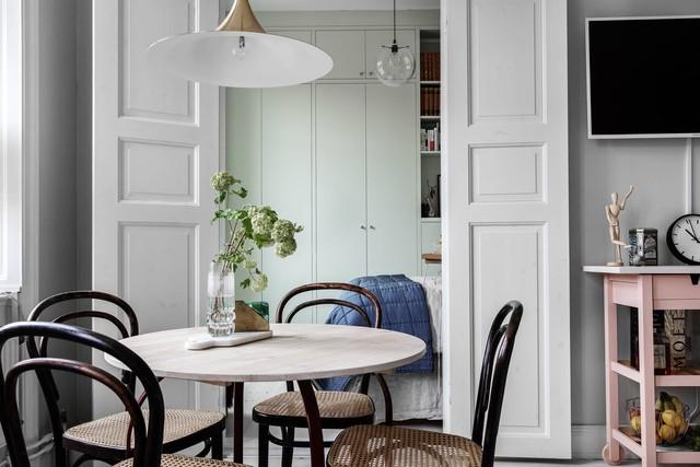 Sau nhiều năm tiết kiệm, cô gái trẻ đã mua được căn hộ 39m² và cải tạo thành không gian đẹp ngọt ngào - Ảnh 7.