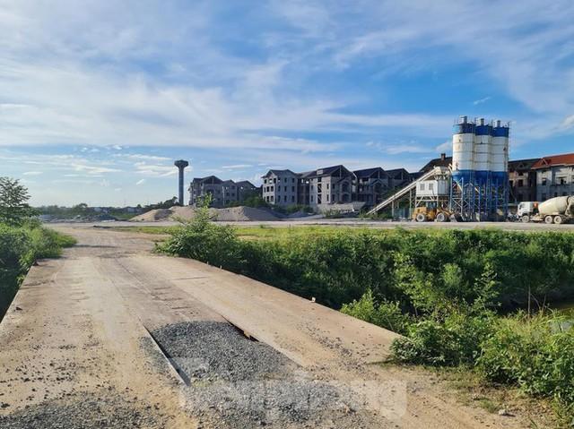 Tận thấy dự án du lịch biến thành khu toàn biệt thự để bán ở Hà Nội  - Ảnh 8.