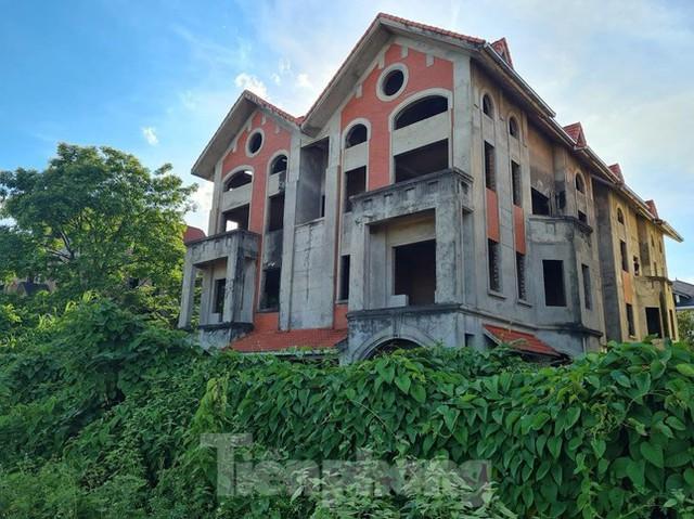 Tận thấy dự án du lịch biến thành khu toàn biệt thự để bán ở Hà Nội  - Ảnh 9.