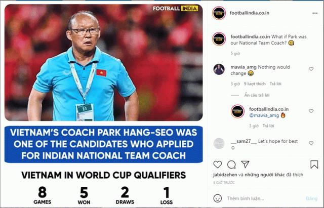 ĐT Ấn Độ muốn chiêu mộ HLV Park Hang Seo của Việt Nam? - Ảnh 1.