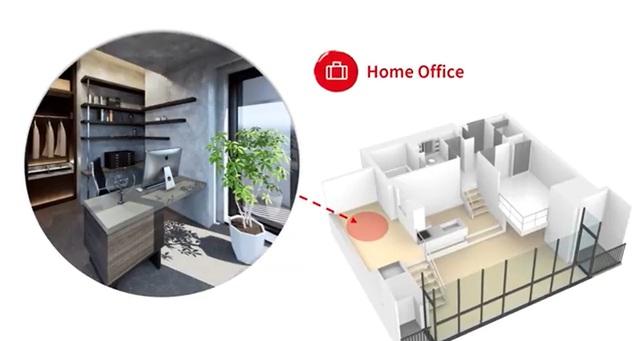 JLL: Mùa dịch, thiết kế văn phòng nhỏ tại nhà lên ngôi - Ảnh 1.