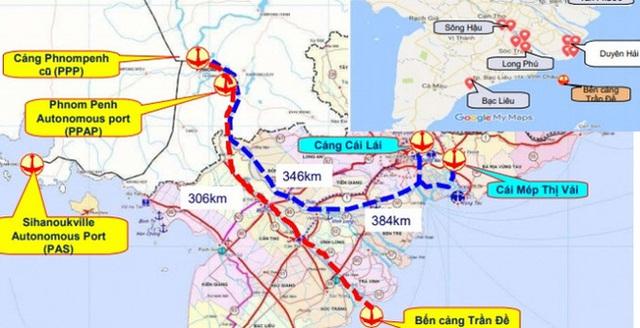 Siêu cảng Trần Đề, dự án 15 tỷ đô của Tập đoàn Dầu khí Mỹ và giấc mơ lột xác của tỉnh Sóc Trăng - Ảnh 1.