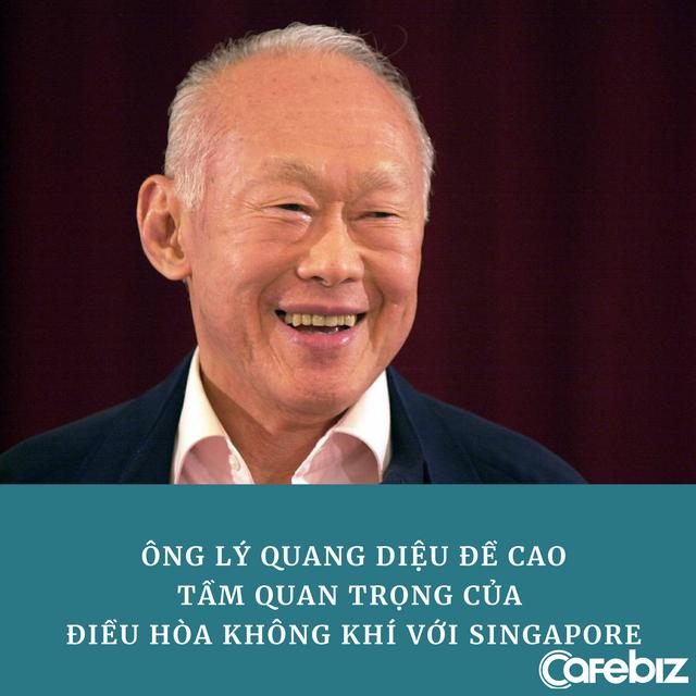 Cố Thủ tướng Singapore Lý Quang Diệu: Điều hòa nhiệt độ là một trong những chìa khóa thành công của chúng tôi - Ảnh 1.