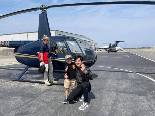 Rich kid ở Mỹ kiểu quý tử nhà Đan Trường: Đi trực thăng dạo phố, mê siêu xe và tận hưởng cuộc sống chuẩn giới thượng lưu - Ảnh 2.