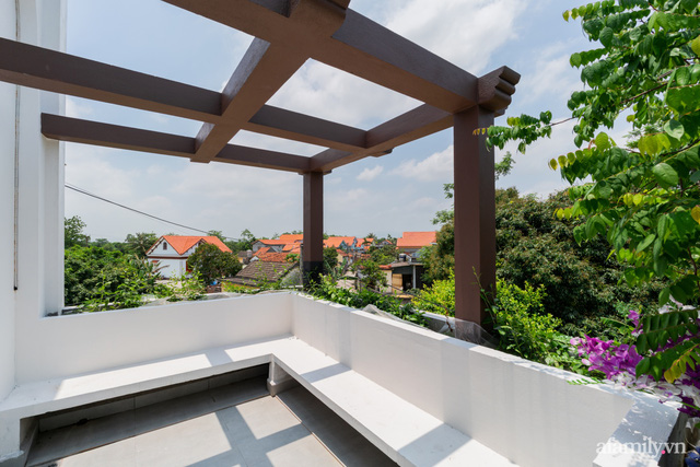 Con gái cải tạo nhà cấp 4 cũ kỹ thành nhà vườn với không gian vô cùng bình yên tặng ba mẹ ở Quảng Ninh - Ảnh 24.