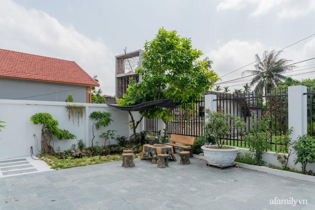 Con gái cải tạo nhà cấp 4 cũ kỹ thành nhà vườn với không gian vô cùng bình yên tặng ba mẹ ở Quảng Ninh - Ảnh 6.