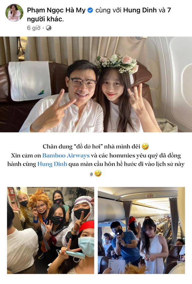 Cầu hôn trên mây, triệu phú công nghệ Hùng Đinh thành công rước nàng thơ VTV24 kém 16 tuổi về dinh - Ảnh 1.