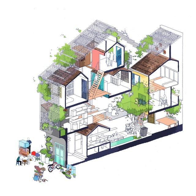 """Ngôi nhà """"nguỵ trang"""" độc đáo nhất Sài Gòn, bên ngoài xập xệ cũ nát nhưng bên trong lại là kiệt tác giữa lòng thành phố - Ảnh 4."""