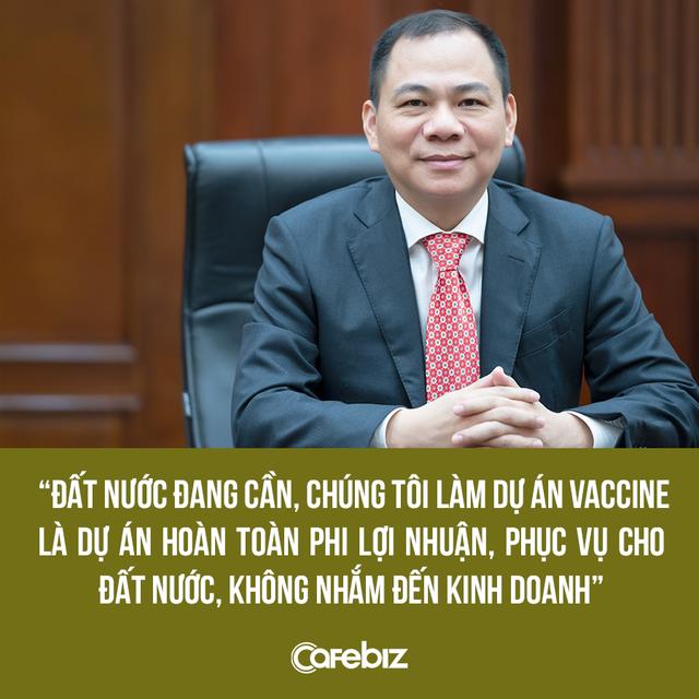 Tỷ phú Phạm Nhật Vượng lần đầu chia sẻ về việc thành lập công ty sản xuất vaccine VinBiocare: Hoàn toàn phi lợi nhuận và phục vụ cho đất nước - Ảnh 1.