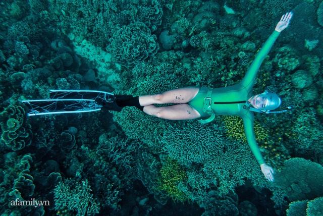 Zen Le - Cô gái Sài Gòn đam mê thể thao lặn biển đích thân trải nghiệm những tầng đại dương nguy hiểm mà không phải ai cũng được tới  - Ảnh 11.