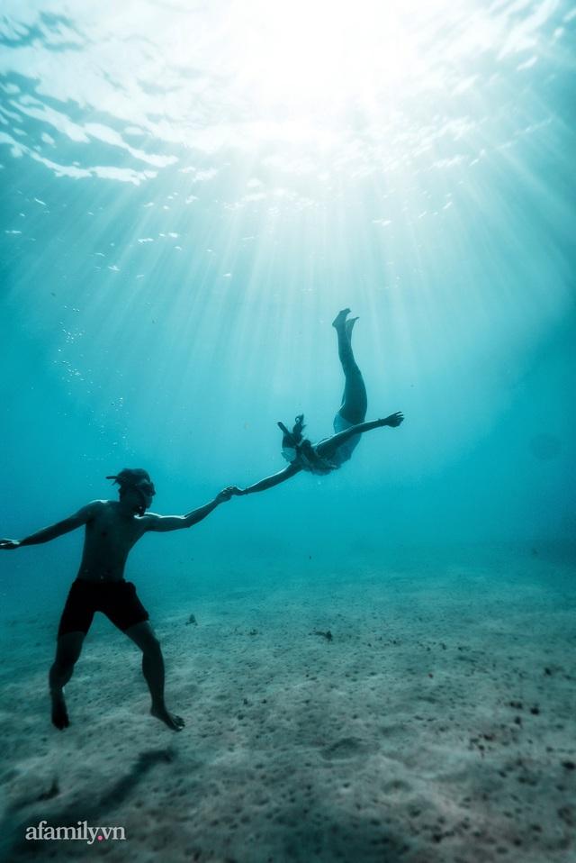 Zen Le - Cô gái Sài Gòn đam mê thể thao lặn biển đích thân trải nghiệm những tầng đại dương nguy hiểm mà không phải ai cũng được tới  - Ảnh 14.