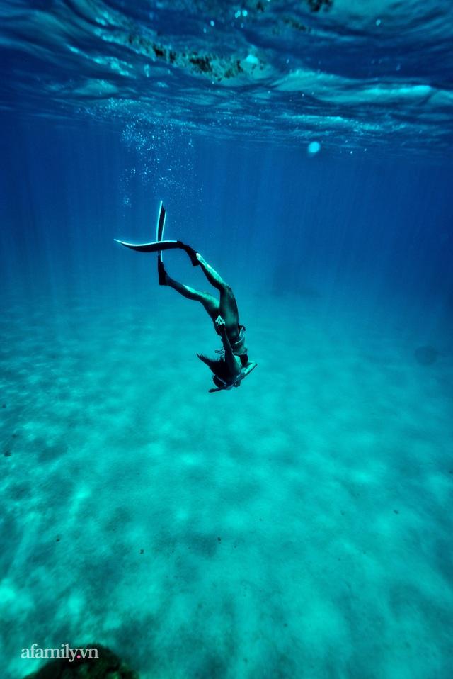 Zen Le - Cô gái Sài Gòn đam mê thể thao lặn biển đích thân trải nghiệm những tầng đại dương nguy hiểm mà không phải ai cũng được tới  - Ảnh 16.