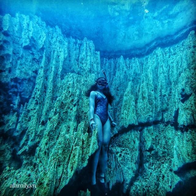 Zen Le - Cô gái Sài Gòn đam mê thể thao lặn biển đích thân trải nghiệm những tầng đại dương nguy hiểm mà không phải ai cũng được tới  - Ảnh 17.
