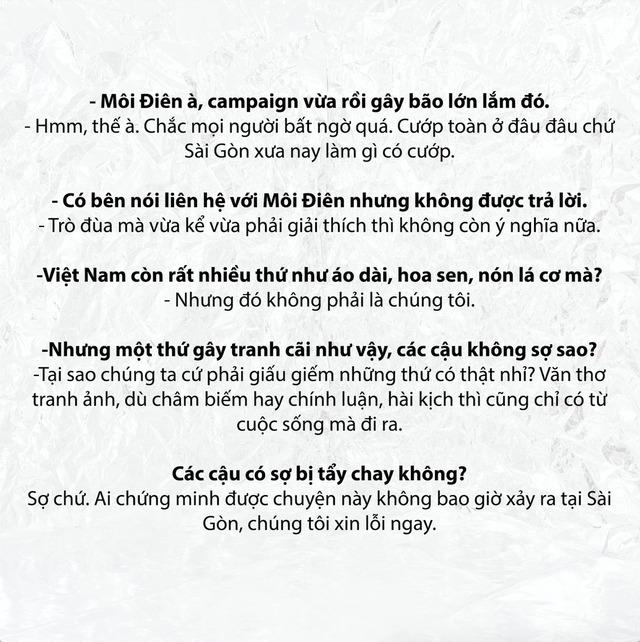 Gây tranh cãi với bộ ảnh dàn cảnh cướp giật, thương hiệu thời trang ở Sài Gòn lên tiếng: Nếu bạn ra đường thấy ăn cướp và xúc động, thì vấn đề là ở bạn! - Ảnh 2.