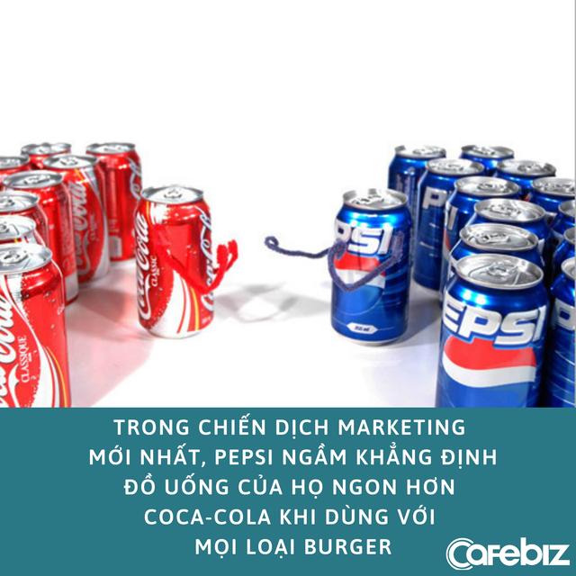 Marketing nhiều não như Pepsi: Chỉ ra logo của mình trên giấy gói của những chuỗi đồ ăn nói không với Pepsi - Ảnh 3.